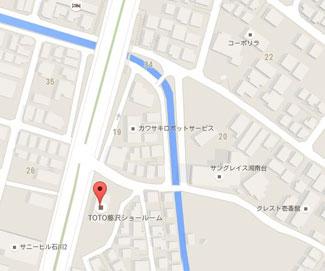 鎌倉市近くにあるTOTO(住宅のリノベーション・リフォームに役立つメーカー)