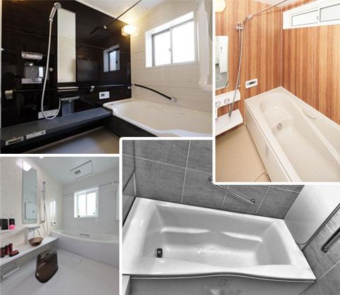 在来工法の浴室をユニットバスに変えるリフォーム見積費用
