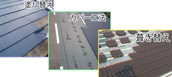 【屋根リフォームの必須知識】方法と材料について