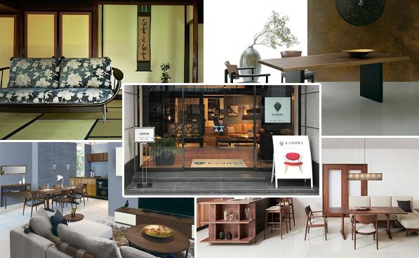 和風の家具と室内扉から空間美を追求するKASHIWA